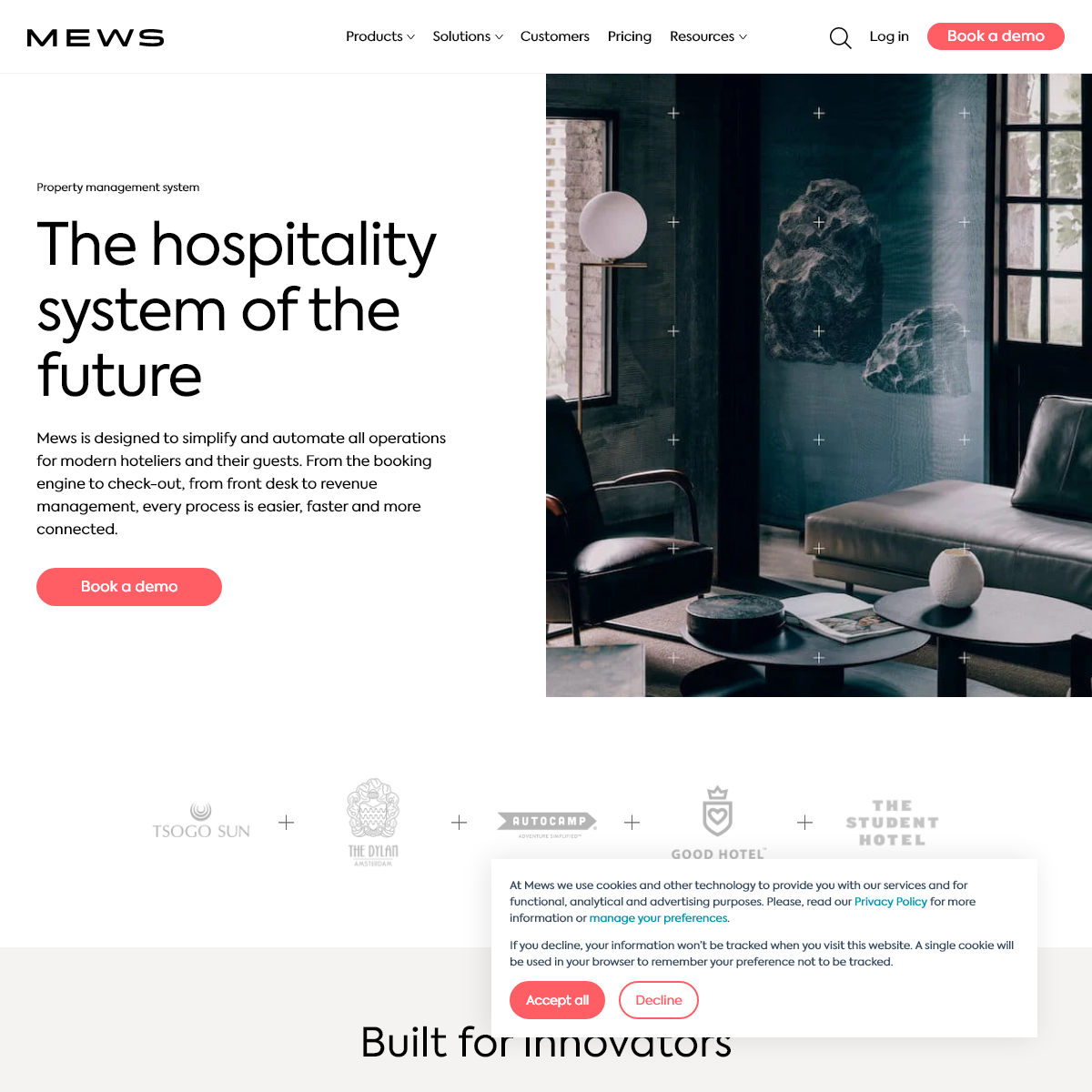 Mews property management system - The hospitality system of the future