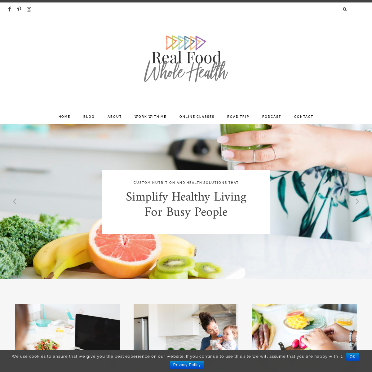 Home Page - Real Food Whole Health