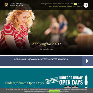 University of Birmingham - A leading global university