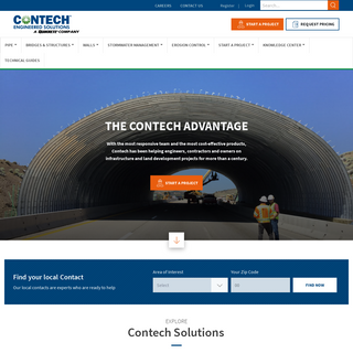 Contech Engineered Solutions - Solutions for Every Site