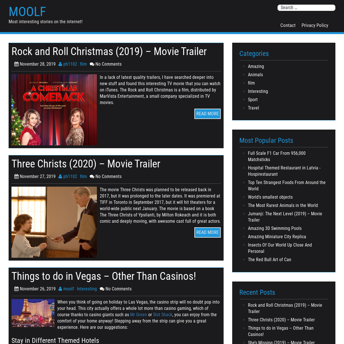 Moolf – Most interesting stories on the internet!
