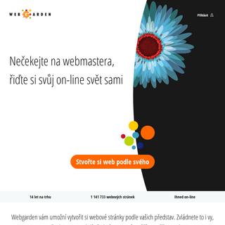 Stvořte si web podle svého - Webgarden