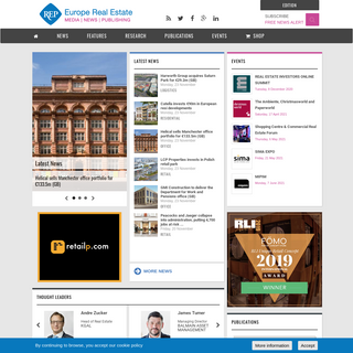 Europe Real Estate - News and publications about commercial real estate