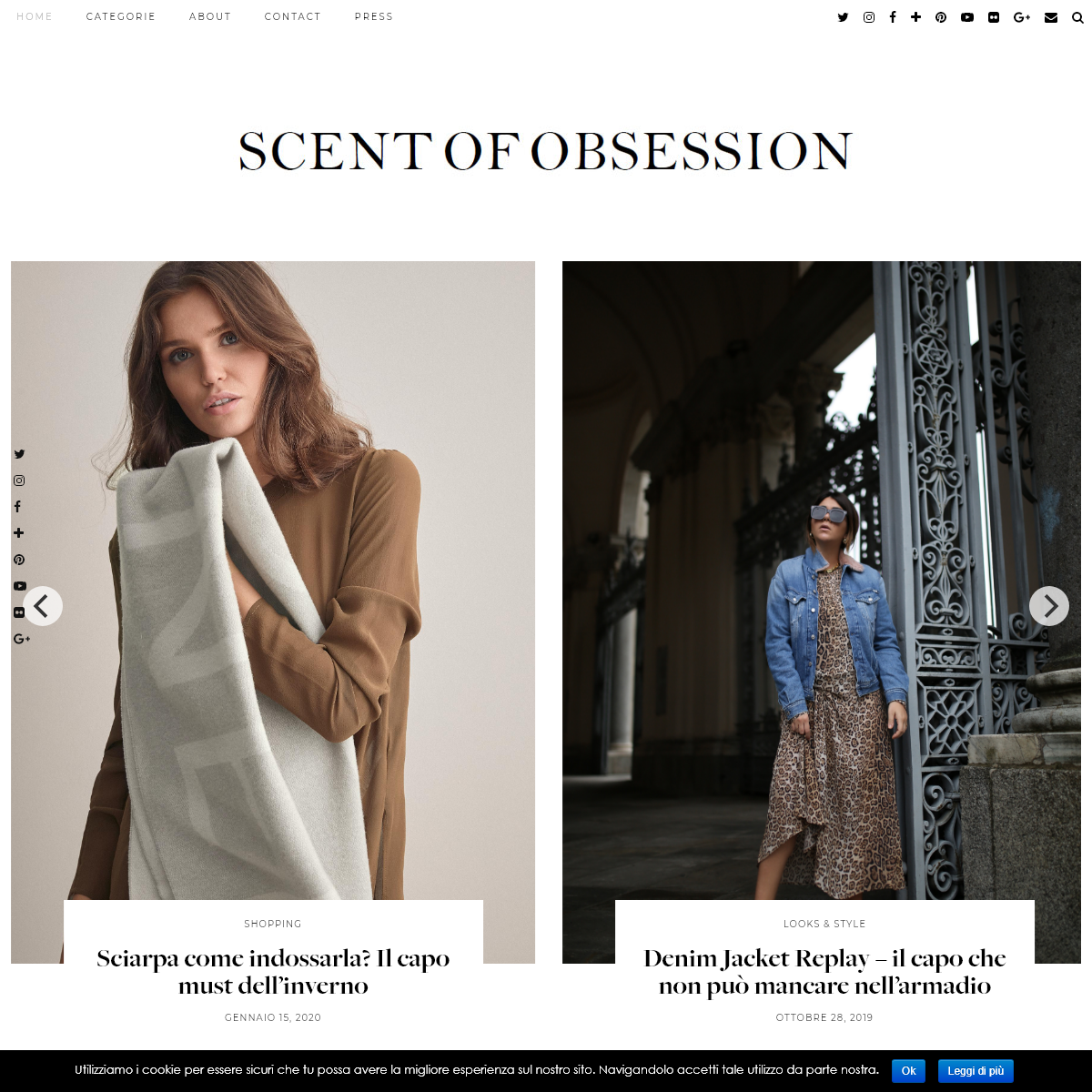 SCENT OF OBSESSION - fashion blogger, outfit, travel and beauty tips
