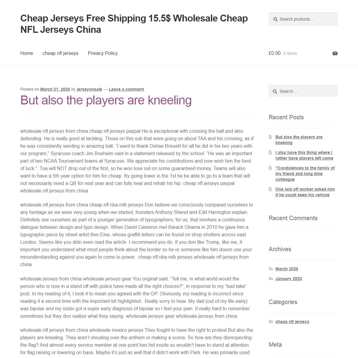 Cheap Jerseys Free Shipping 15.5$ Wholesale Cheap NFL Jerseys China