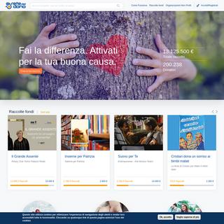 Fundraising, crowdfunding e raccolta fondi online - Rete del Dono