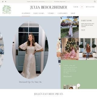 Homepage - Julia Berolzheimer
