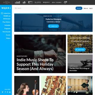 WQXR - New York`s Classical Music Radio Station