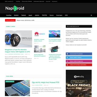Android hírek, blog és közösség - NapiDroid