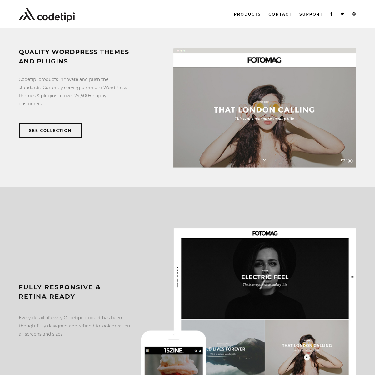 Codetipi - Premium WordPress Themes & Plugins