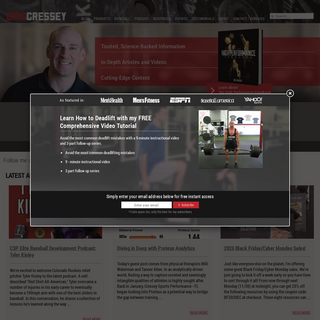 Eric Cressey - High Performance Training, Personal Training - High Performance Training, Personal Trainer, Online Sports Trainin