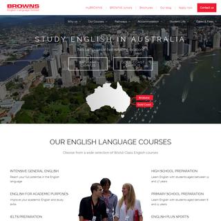 BROWNS English Language School, Australia