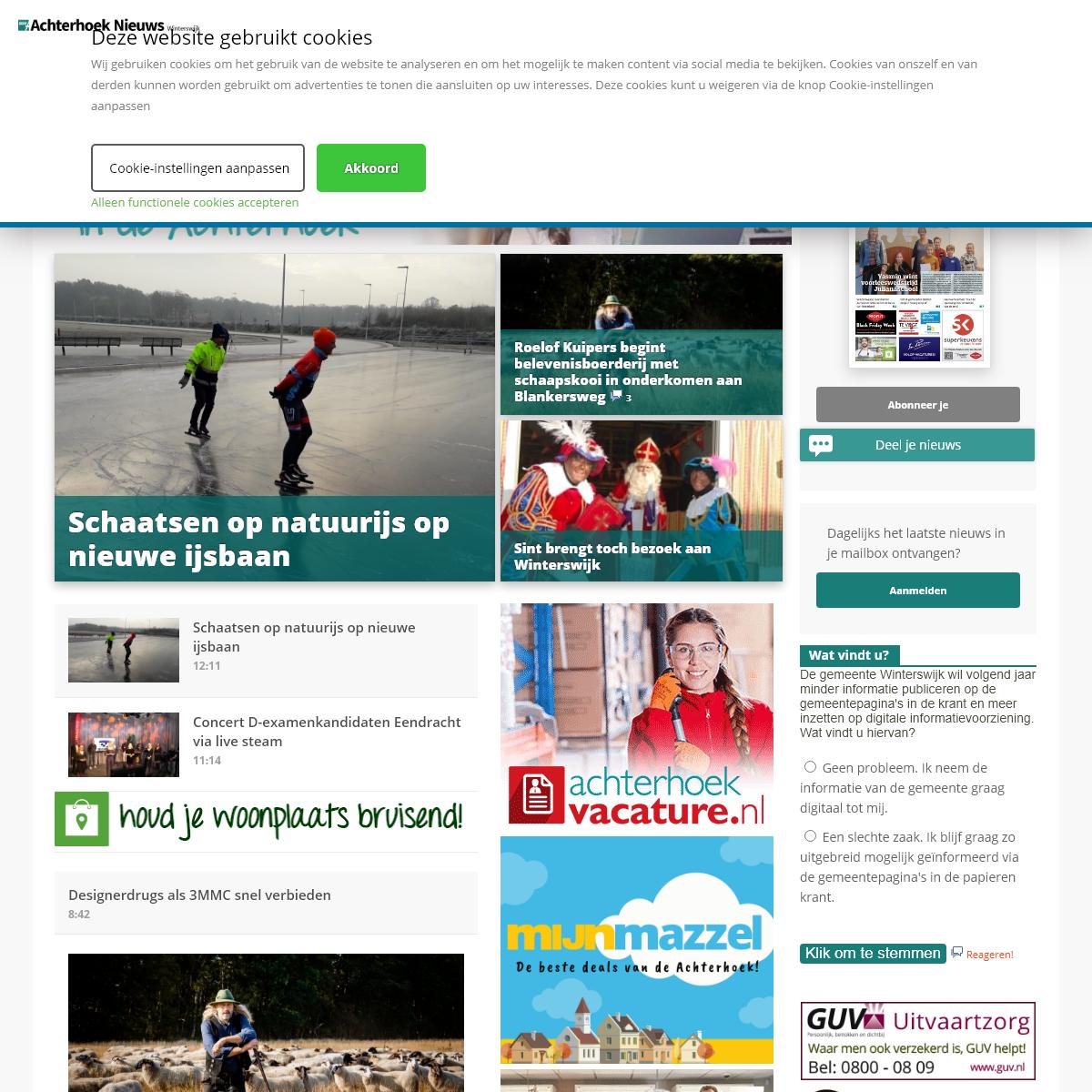 Al het nieuws uit Winterswijk