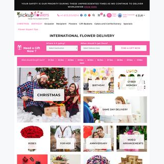 Send Flowers Online - Flower Delivery Shop - International Florist