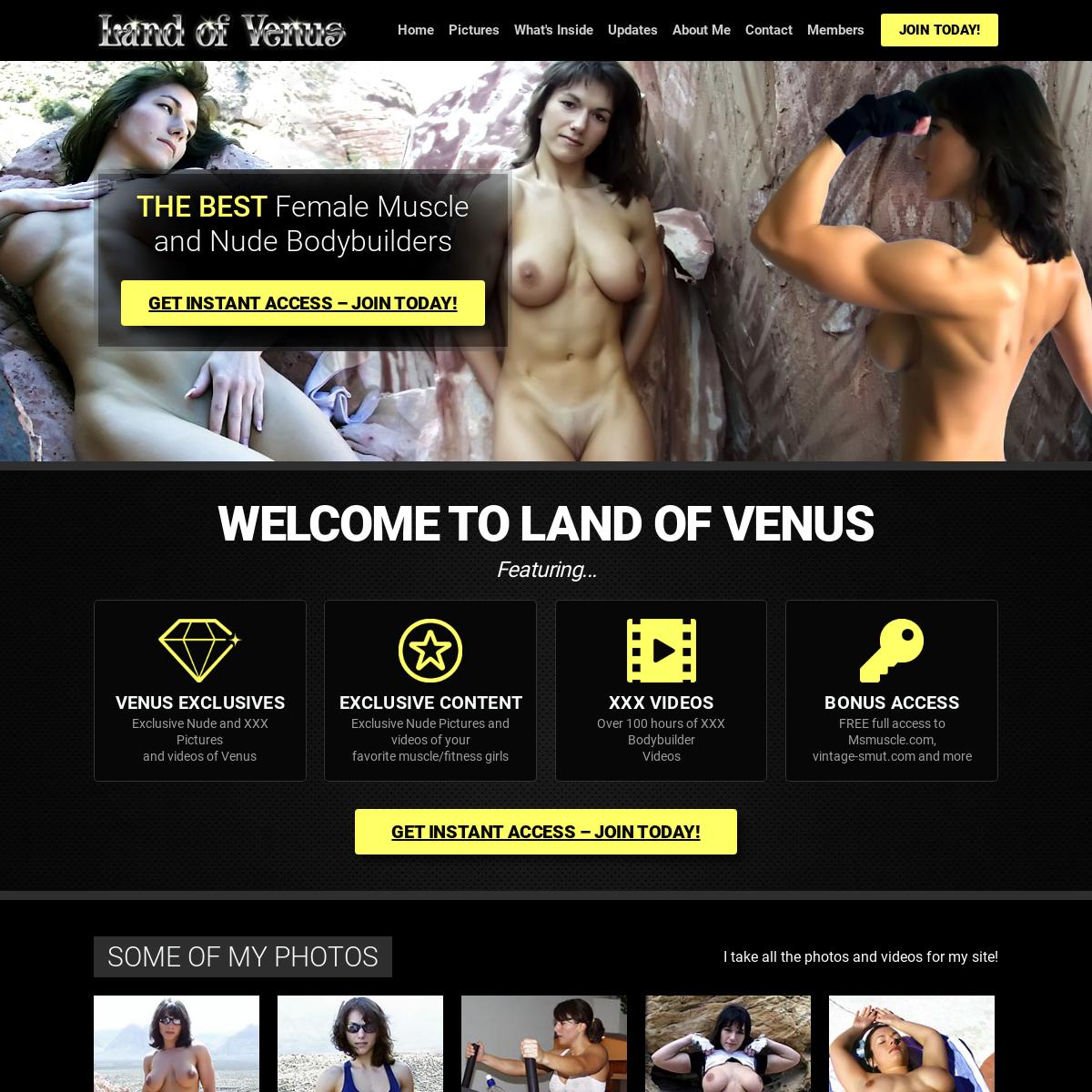 A complete backup of www.landofvenus.com