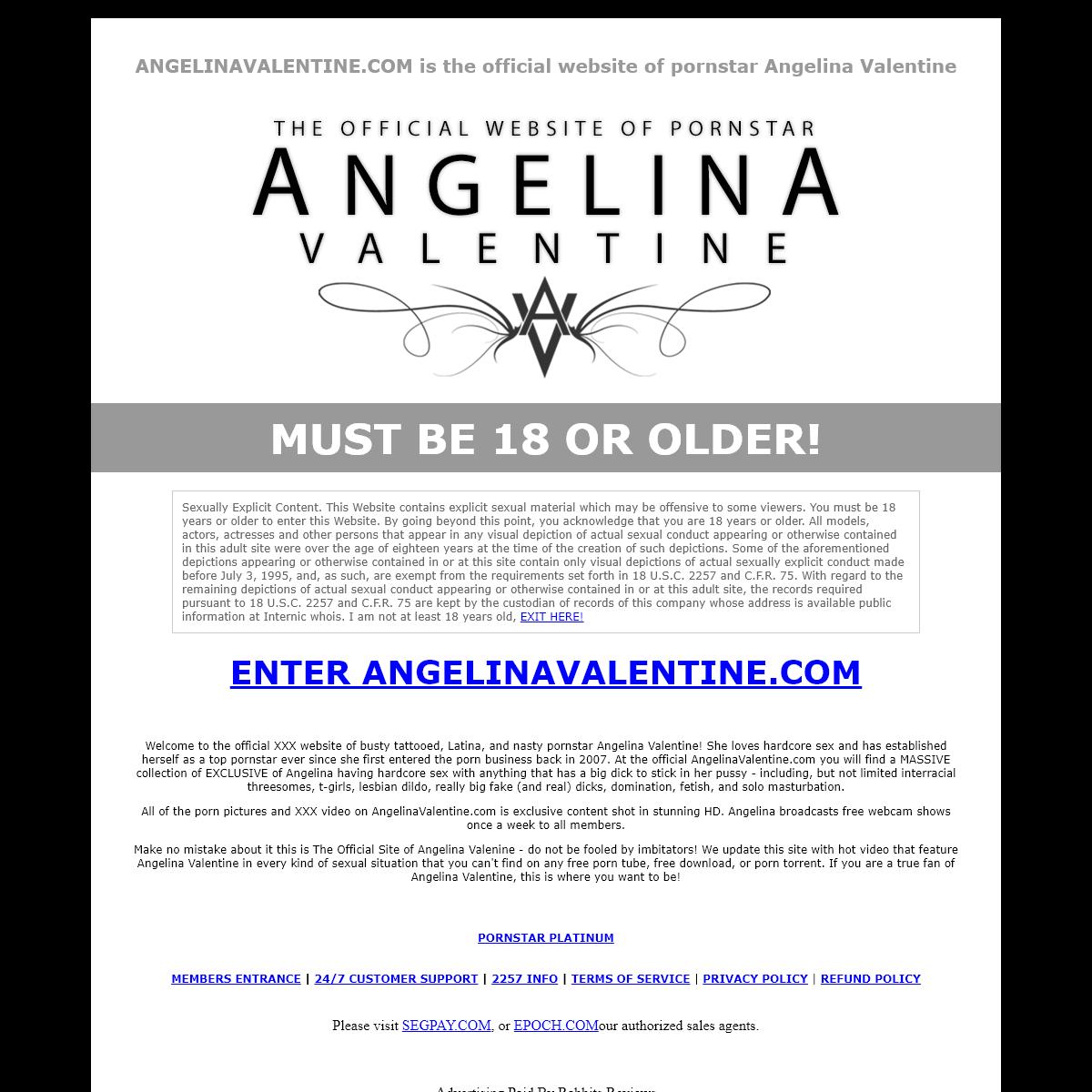 Angelina Valentine - ANGELINAVALENTINE.COM