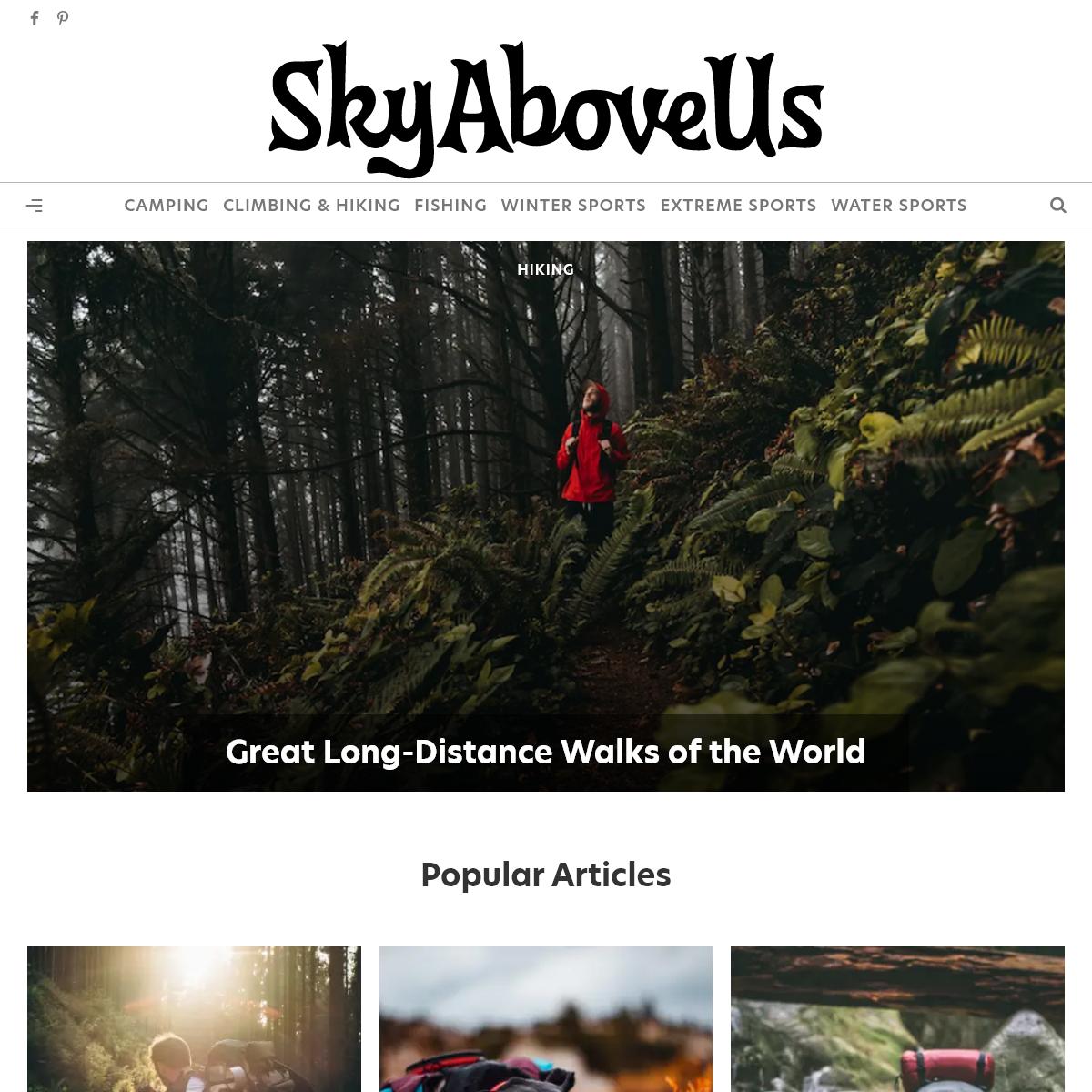 SkyAboveUs - Outdoors