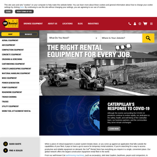 Power & Construction Equipment Rental - Cat Rental Store