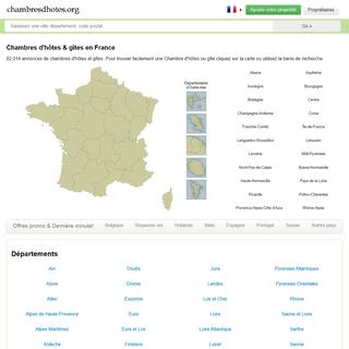Chambres D`Hotes & Gites en France