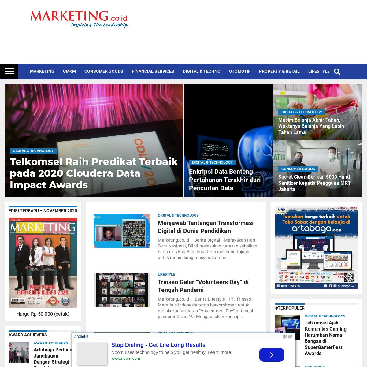 Berita Marketing dan Berita Bisnis Hari Ini - MARKETING.co.id