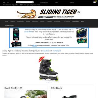 Sliding Tiger - freeride inline skates - store and webshop