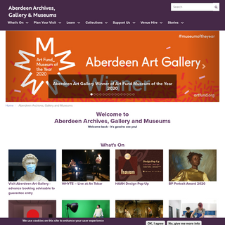 Aberdeen Archives, Gallery and Museums - Aberdeen City Council