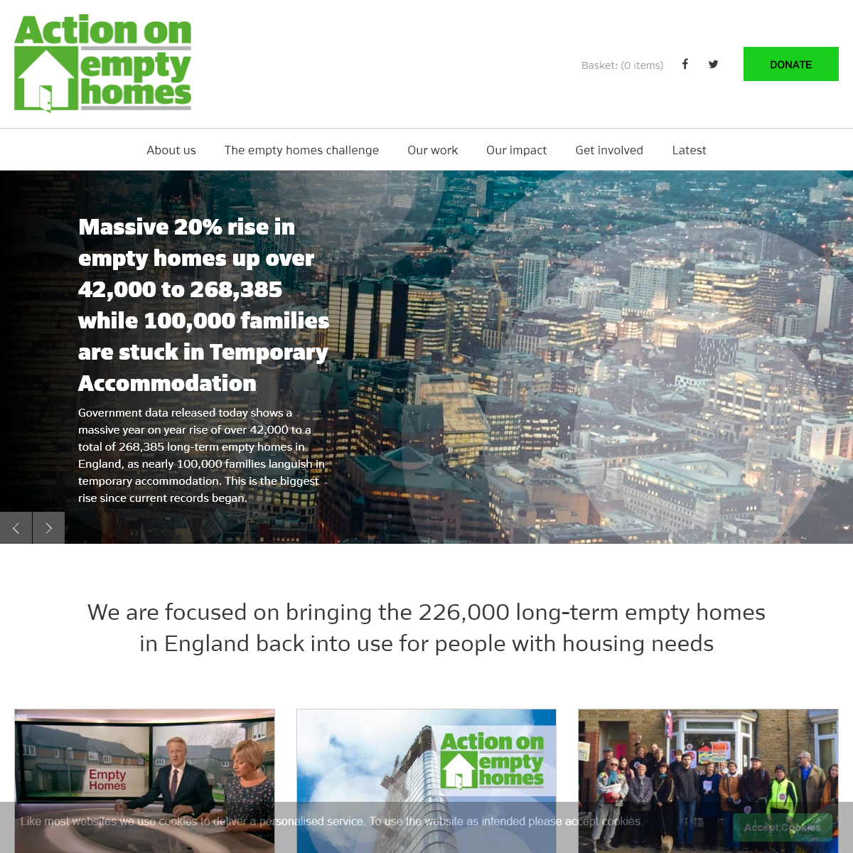 Action on Empty Homes