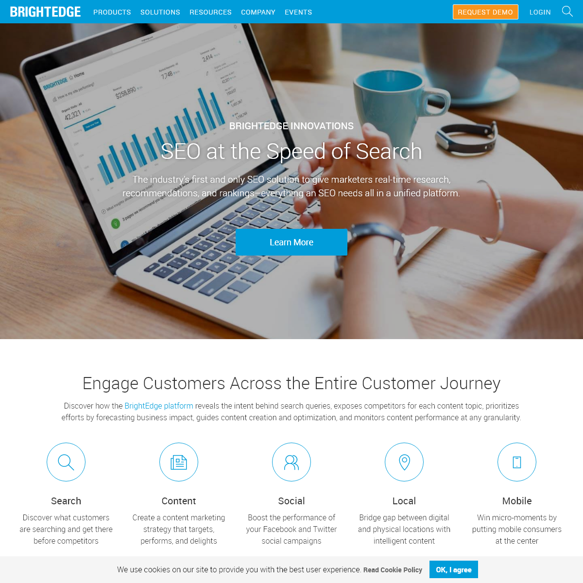 SEO Solution - Content Performance Marketing - BrightEdge