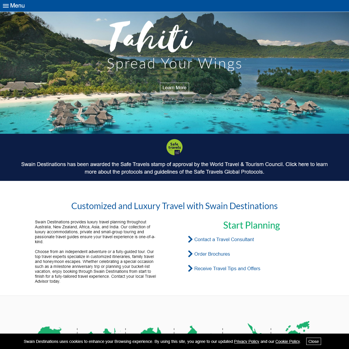 Customized and Luxury Travel with Swain Destinations