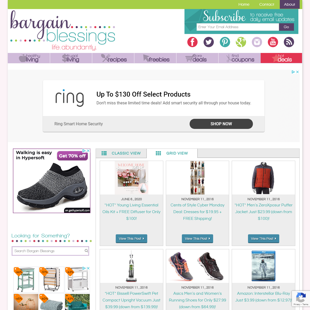 Bargain Blessings – Coupons Deals and more to help you save like you never have before! – Living Our Best Lives, On a Budget