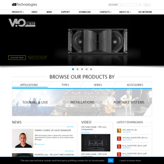 dBTechnologies - Professional Audio Equipment