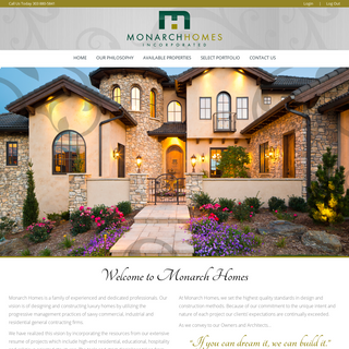Monarch Homes - Committed to Building Excellence