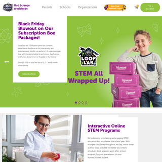 STEM Education - Activities for Kids - Mad Science HQ