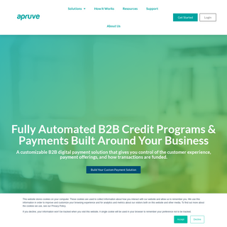 B2B Credit Programs & Payments - Apruve
