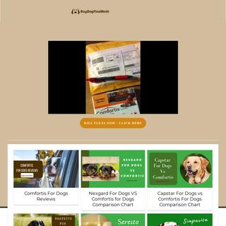 Best Dog Health - Comfortis Flea Medicine - BuyDogFleaMeds