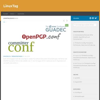 LinuxTag – News und Updates vom LinuxTag e.V.