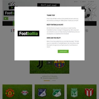 Full online historic football matches - Footballia