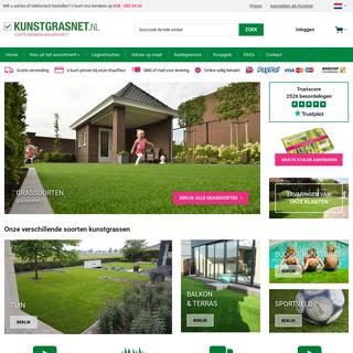 Kunstgras kopen- Vraag eerst gratis stalen aan! - Kunstgrasnet.nl