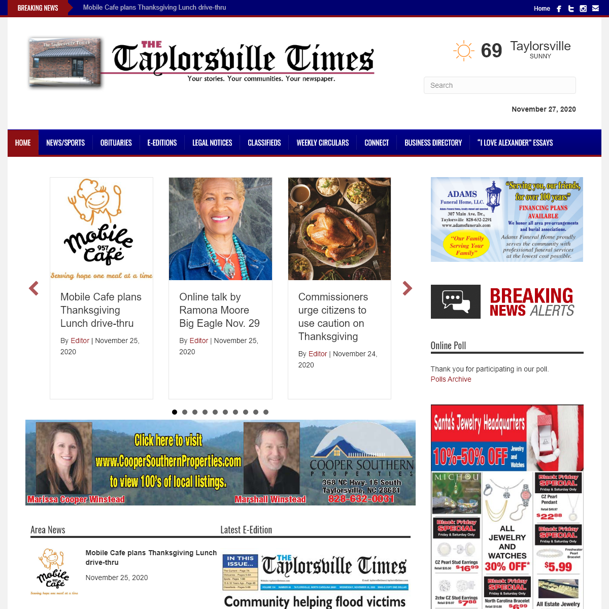 The Taylorsville Times – Your stories. Your communities. Your newspaper.