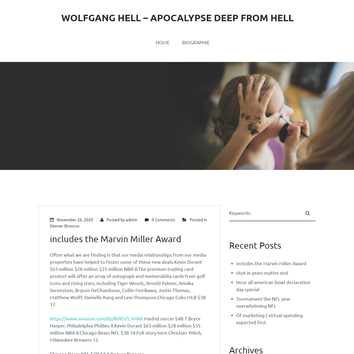 Wolfgang Hell – Apocalypse Deep from Hell