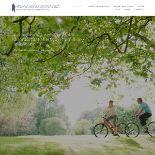 Hemochromatosis.org - An Education Website for Hemochromatosis and Too Much Iron