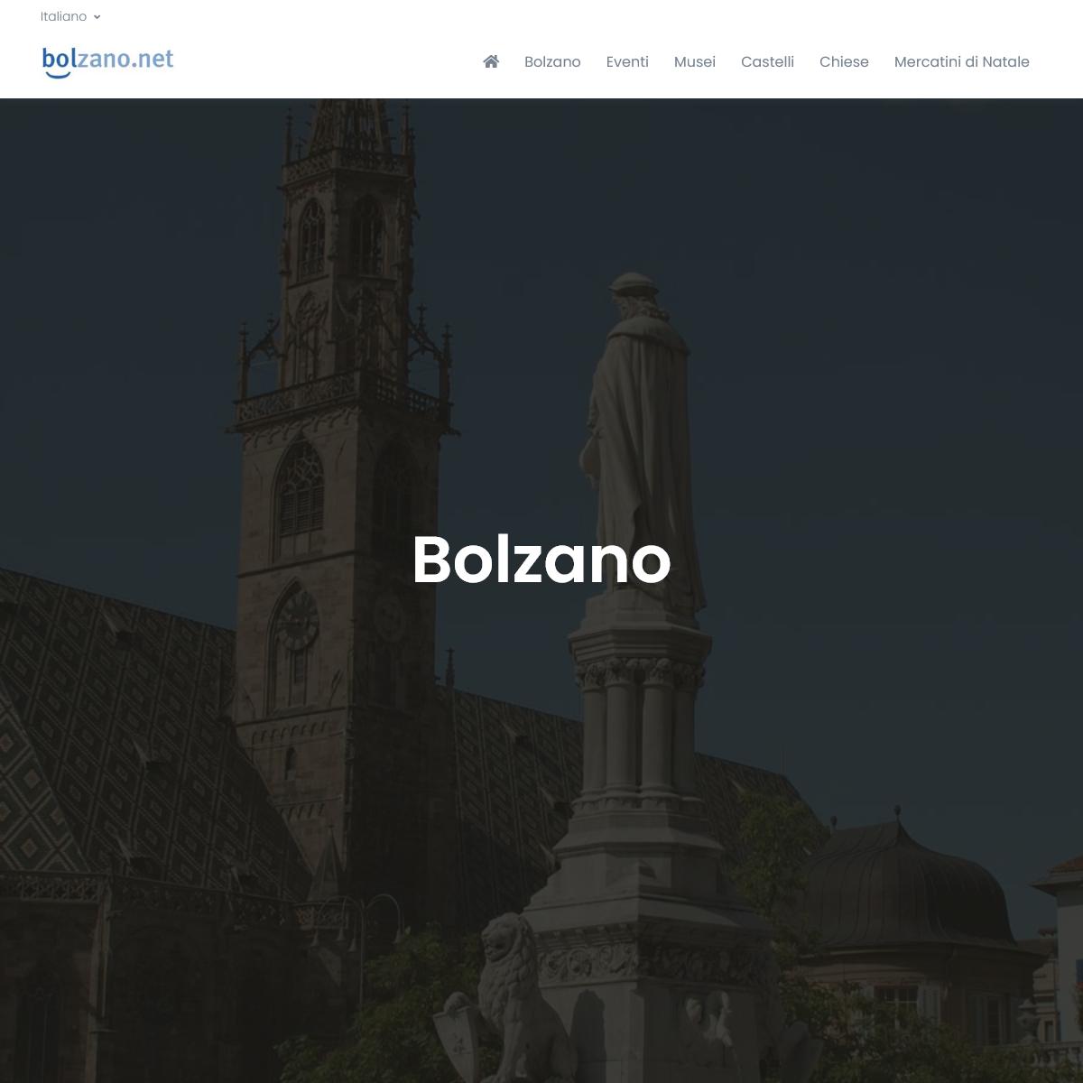 Bolzano si trova in una soleggiata valle con clima mite