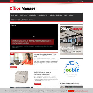 Modern Office Manager -