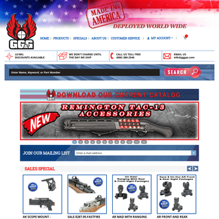 GG&G Tactical Rifle Accessories - Military & Assault Rifle Parts For Sale
