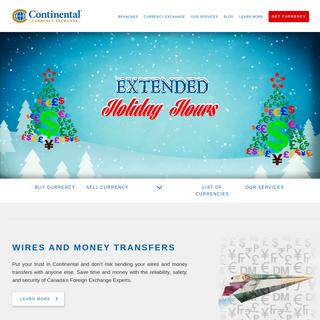 Continental Currency Exchange - Best Exchange Rates