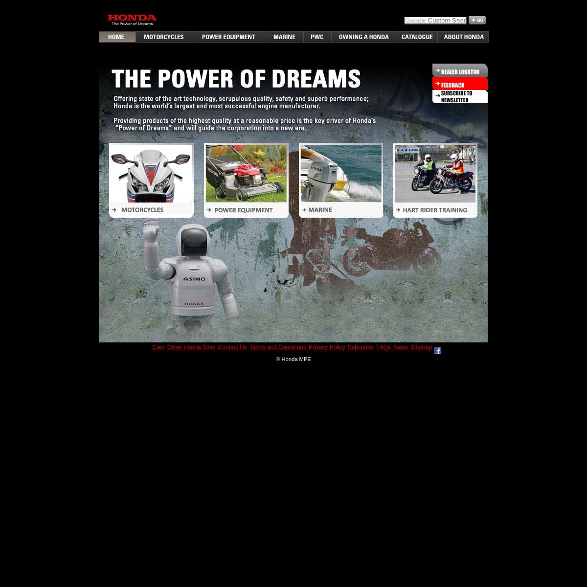 Honda Motorcycles & Power Equipment