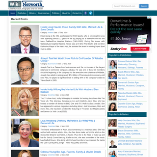 WikiNetworth - Celebrity NetWorth - Site