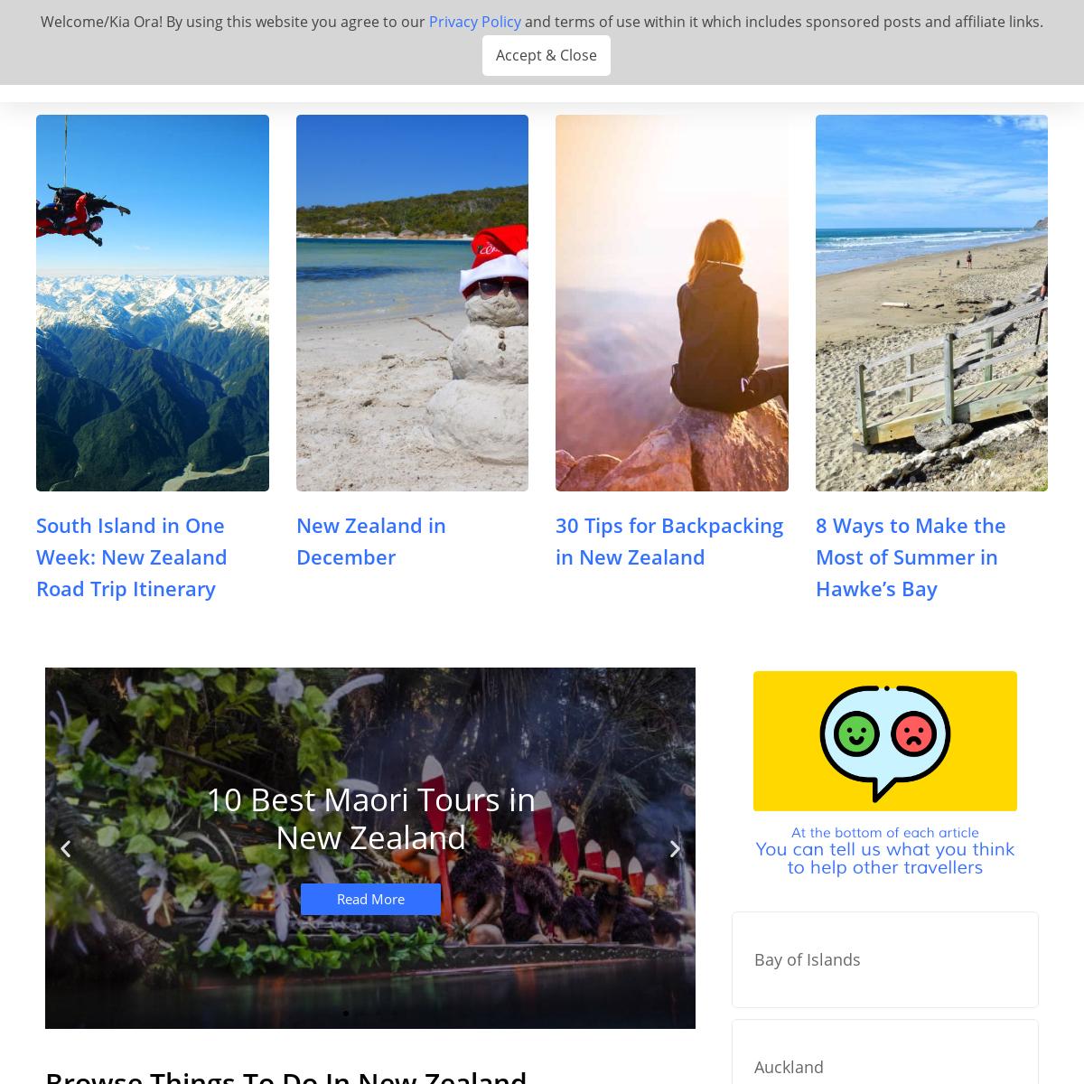 NZ Pocket Guide - New Zealand`s Best Travel Guide