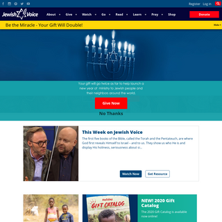 Messianic Jewish Ministry Spreading the Good News of Yeshua - Jewish Voice
