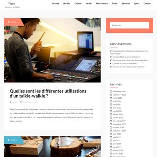 Yagoa - Zen sur le Web